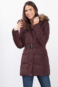 Esprit / Premium quilted down coat
