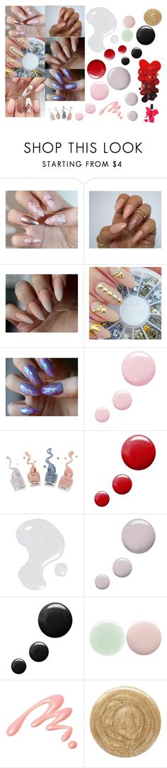 """Nail Art"" by sonniiiiirosee ❤ liked on Polyvore featuring beauty, Topshop, Illamasqua, Nails Inc., Chantecaille and Burberry"