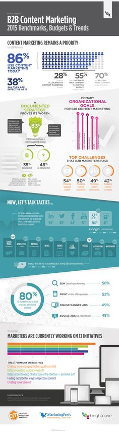 #B2B #ContentMarketing: 2015 Benchmarks, Budgets and Trends