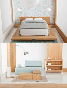 How To Make Miniature Dollhouse Furniture: How To Make Modern Dollhouse Furniture