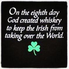 Gotta love being Irish!