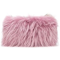Mr & Mrs Italy two tone fur clutch (38 445 UAH) ❤ liked on Polyvore featuring bags, handbags, clutches, fillers, сумки, purple purse, two tone handbags, fur purse, purple handbags and fur clutches