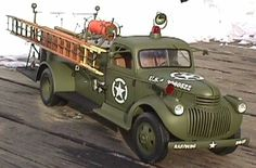 Army fire truck. (JpM ENTERTAINMENT)
