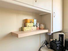J Thomas, Rustic Shelves, White Oak, Floating Shelves, Shelving, Solid Wood, Modern, Kitchen, Furniture
