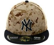 New Era Authentic Collection New York Yankees Memorial Day On-Field 2014 Fitted Game Hat