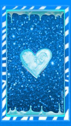 Sprinkle Of Glitter Pink Wallpaper Heart, Glitter Phone Wallpaper, Cellphone Wallpaper, Blue Wallpapers, Pretty Wallpapers, Wallpaper Backgrounds, Iphone Wallpapers, Cute Heart Drawings, Sprinkle Of Glitter