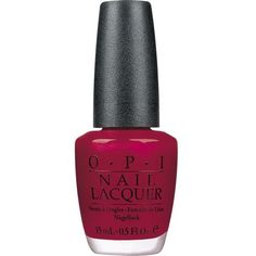 OPI Classic Nail Lacquer - Malaga Wine (15ml) ($19) ❤ liked on Polyvore featuring beauty products, nail care, nail polish, opi nail lacquer, opi, opi nail polish and opi nail varnish