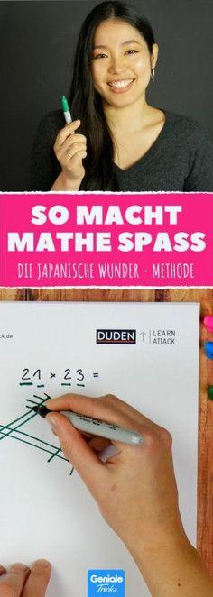 Dieser Trick aus Japan ist der Hammer. Man sind wir blöde, das nicht zu lernen. #lifehack #mathe #mathematik #rechnen #schule