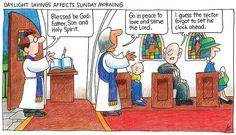 """The Rector Forgot"" (Cartoon by the Rev. Jay Sidebotham)"