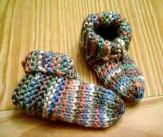 Baby booties by Aine D, via Flickr