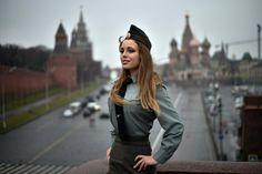 Yulia kharlamova militar rusa causa furor en internet el diario de