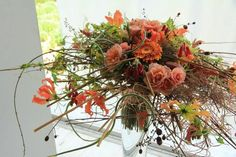 At the 5 Days and 5 Stories master class at Gregor Lersch Floral Design: