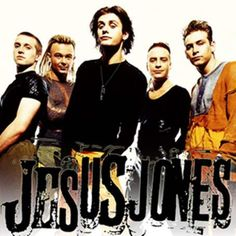 Right Here Right Now ~ Jesus Jones MY FIRST CONCERT!!