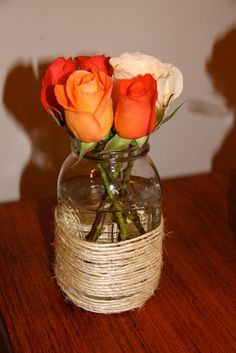 Mason jar ideas. It's great to recycle, and even better to reuse.