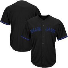 Toronto Blue Jays Majestic Big & Tall Pop Fashion Jersey - Black - $74.99