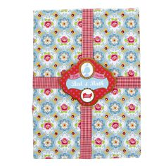 Pip Studio - Blossom Rose Fitted Sheet - Blue - Single