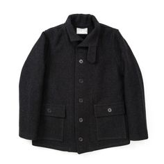 The Real McCoy's Submarine Jacket - Black - ALL PRODUCT - CATEGORIES - Superdenim