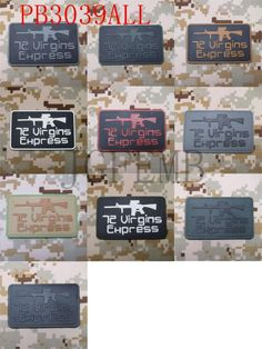 """72 Virgins Express"" Tactical Velcro Patch | For Military, Law Enforcement, Operators |  8x5cm | 3""x2"" http://qatalyst.company/products/72-virgins-express-tactical-velcro-patch-for-military-law-enforcement-operators-8x5cm-3x2?utm_campaign=crowdfire&utm_content=crowdfire&utm_medium=social&utm_source=pinterest  · #tacticalpatches #patches #tacticalpatch #moralepatch #pewpew #patch #tacticalpatchworks #igmilitia #tacticool #moralepatches #airsoft #tacticalgear #airsoftworldwide #pewpewlife…"