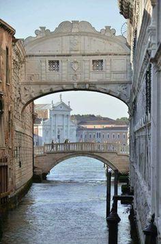 Puente de los suspiros.Venecia.