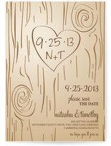 cool source.  Fall Carving Save the Date Cards
