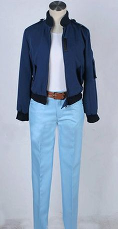 Relaxcos Tiger and Bunny Uniforms Cosplay Costume -- Details can be found by clicking on the image.