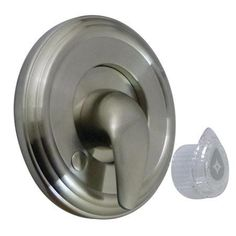 Kingston Brass KT69.MT Made to Match Single Handle Valve Trim Only Satin Nickel Faucet Valve Trim Only Single Handle