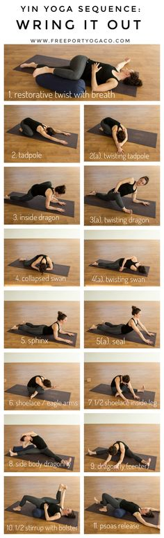 Yin Yoga Sequence: Wring it Out ...