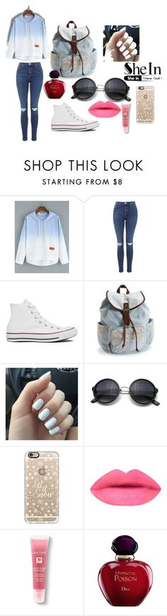 """""""Untitled #4"""" by selma-imsirovic-01 ❤ liked on Polyvore featuring Converse, Aéropostale, Casetify, Lancôme, Christian Dior, women's clothing, women's fashion, women, female and woman"""