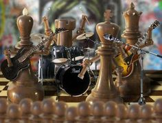 The Chess Players Chess Players, Band Pictures, Music Stuff, Rock Bands, Videos, Candle Holders, Table Lamp, Instagram, Home Decor