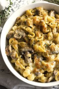 White Truffle Mac and Cheese-The Almond Eater