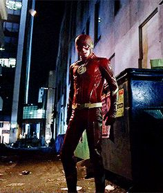 The Flash and his suit in 2024