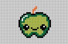Green Apple Pixel Art
