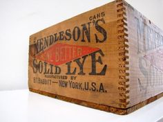 Mendleson Wooden Crate