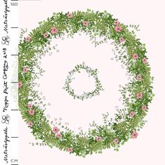 Metsäseppele puuvillasatiini, vaaleanpunainen | Nuppu Print Company Printing Companies, Handicraft, Wreaths, Satu, Fabrics, Decor, Clothes, Hand Crafts, Tejidos