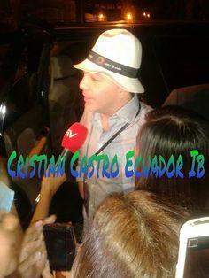 Llegó Cristian Castro al #Ecuador #Guayaquil  yeahhh y bien  recibido nuestras chikas #CCECUADORIB YEAHHHH!   #Musicalisimo  #Malecón2000 #Ecuavisa #ColiseoRumiñahui #ElUniverso #cristiancastro #cristiancastroelmejor