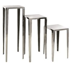 I pinned this 3 Piece Baldwin Accent Table Set from the Zodiac: Libra event at Joss and Main!