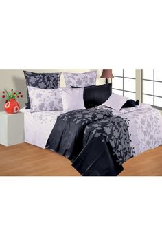 Pamper yourself with this classic black & white cotton double bed sheet. This gorgeous bedding set, inspired by the classical European elegance collection, will provide any bedroom an enhanced look. The superb fabric promise comfort and durability. Pull it onto your bed and welcome sweet and sound sleep. Pillow covers shown in the picture are part of the bed set.      Bed Sheet Size : 90 x 100 Inches. Pillow Cover Size : 17 x 27 Inches    Shop for Rs. 1000 & get a picnic mat absolutely…