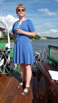 Kleid Herbstgold (Schnittmuster, nähen)