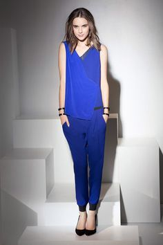 Elie Tahari Pre-Fall 2014 Collection Slideshow on Style.com