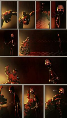 """So i finished the page of the comic called The story behind """"Frogiveness"""". I know, the beginning is a bit slow, but don't worry it will be. The story behind Freddy S, Fnaf Story, Good Horror Games, Fandom Games, Fnaf Characters, Fnaf Drawings, Fnaf Sister Location, Anime Fnaf, Memes"""
