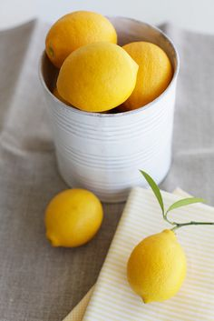 i always have lemons laying around; looking for a cute way to store them :)