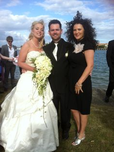 Windy day!! Hair was having a great time!  www.suzanneriley.com.au Suzanne Riley Marriage Celebrant