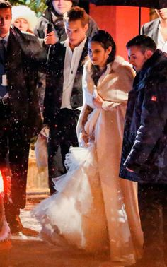 The Religious wedding of Andrea Casiraghi and Tatiana Santo Domingo at the Rougemont church  in Gstaad