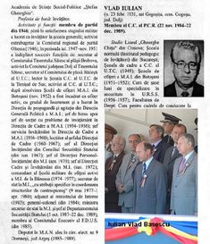 Iulian Vlad Traian Basescu Romania, History, Military, Historia