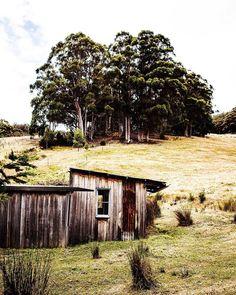 Sunday Shack Appreciation, an apple pickers hut in Tasmania's south Kara Rosenlund, Secret Space, Types Of Houses, Old West, Tasmania, Sunday, Australia, Photo And Video, Appreciation