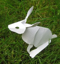 Rosie's Arts and Crafts: Kirigami Rabbit
