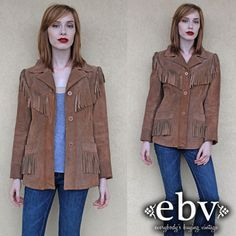 Vintage Hippie Jacket Vintage Hippie Coat 70s Leather by shopEBV, $148.00