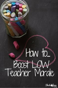 Oh man! This is so helpful for teachers. Great ideas for teachers to bring positivity to other teachers when morale is low.