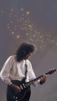 Queen Guitarist, Best Guitarist, Brian May, Taylor Boyfriend, Queens Wallpaper, Band Wallpapers, Queen Photos, Real Queens, Queen Freddie Mercury