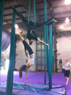 Duo silks. Really want to try this :)